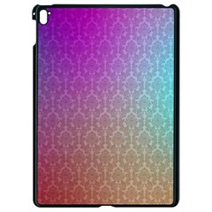 Blue And Pink Colors On A Pattern Apple Ipad Pro 9 7   Black Seamless Case