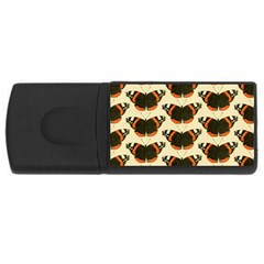 Butterfly Butterflies Insects Rectangular Usb Flash Drive by Jojostore