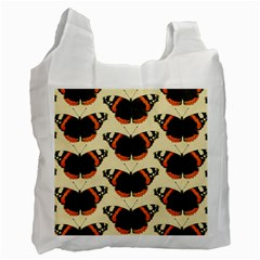 Butterfly Butterflies Insects Recycle Bag (two Side)