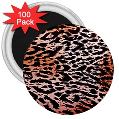 Tiger Motif Animal 3  Magnets (100 Pack) by Jojostore