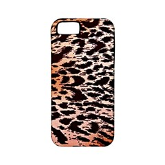 Tiger Motif Animal Apple Iphone 5 Classic Hardshell Case (pc+silicone) by Jojostore