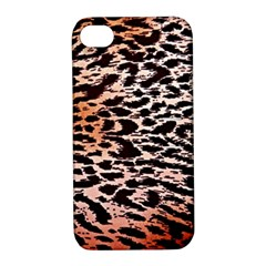 Tiger Motif Animal Apple Iphone 4/4s Hardshell Case With Stand by Jojostore