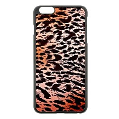 Tiger Motif Animal Apple Iphone 6 Plus/6s Plus Black Enamel Case by Jojostore