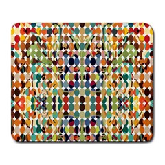 Retro Pattern Abstract Large Mousepads by Jojostore