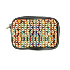 Retro Pattern Abstract Coin Purse