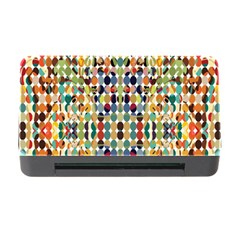 Retro Pattern Abstract Memory Card Reader With Cf
