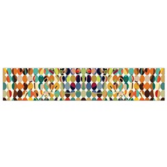 Retro Pattern Abstract Small Flano Scarf