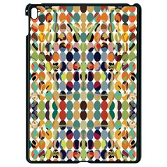 Retro Pattern Abstract Apple Ipad Pro 9 7   Black Seamless Case