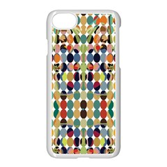 Retro Pattern Abstract Apple Iphone 8 Seamless Case (white)