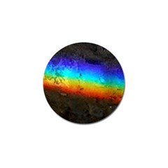 Rainbow Color Prism Colors Golf Ball Marker (10 Pack) by Jojostore