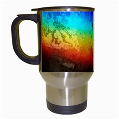 Rainbow Color Prism Colors Travel Mugs (white) by Jojostore
