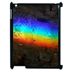 Rainbow Color Prism Colors Apple Ipad 2 Case (black)