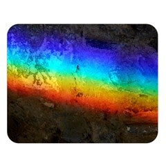 Rainbow Color Prism Colors Double Sided Flano Blanket (large)