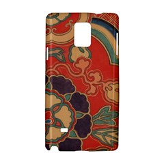Vintage Chinese Brocade Samsung Galaxy Note 4 Hardshell Case