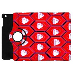 Red Bee Hive Apple Ipad Mini Flip 360 Case by Jojostore
