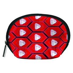 Red Bee Hive Accessory Pouch (medium)