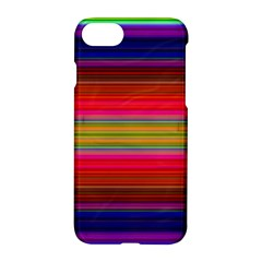 Fiesta Stripe Colorful Neon Background Apple Iphone 7 Hardshell Case