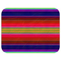 Fiesta Stripe Colorful Neon Background Full Print Lunch Bag by Jojostore