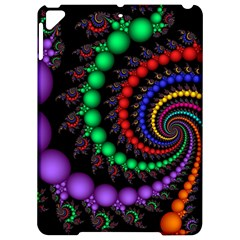 Fractal Background With High Quality Spiral Of Balls On Black Apple Ipad Pro 9 7   Hardshell Case by Jojostore