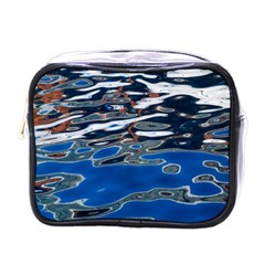 Colorful Reflections In Water Mini Toiletries Bag (one Side)