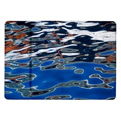 Colorful Reflections In Water Samsung Galaxy Tab 10 1  P7500 Flip Case