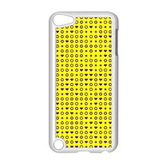 Heart Circle Star Seamless Pattern Apple Ipod Touch 5 Case (white)