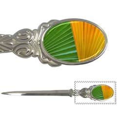 Pattern Colorful Palm Leaves Letter Opener