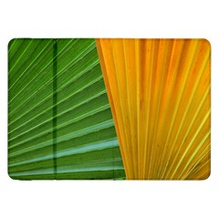 Pattern Colorful Palm Leaves Samsung Galaxy Tab 8 9  P7300 Flip Case