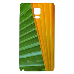 Pattern Colorful Palm Leaves Samsung Note 4 Hardshell Back Case