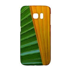 Pattern Colorful Palm Leaves Samsung Galaxy S6 Edge Hardshell Case by Jojostore