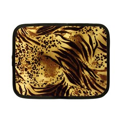 Stripes Tiger Pattern Safari Animal Print Netbook Case (small)