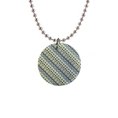 Abstract Seamless Pattern 1  Button Necklace