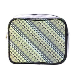 Abstract Seamless Pattern Mini Toiletries Bag (one Side)