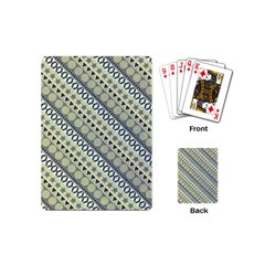 Abstract Seamless Pattern Playing Cards (mini) by Jojostore