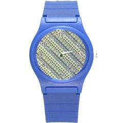 Abstract Seamless Pattern Round Plastic Sport Watch (s) by Jojostore