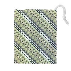 Abstract Seamless Pattern Drawstring Pouch (xl)