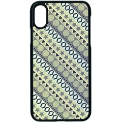 Abstract Seamless Pattern Apple Iphone X Seamless Case (black) by Jojostore