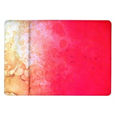Abstract Red And Gold Ink Blot Gradient Samsung Galaxy Tab 10 1  P7500 Flip Case by Jojostore