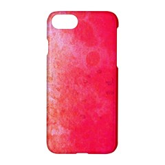 Abstract Red And Gold Ink Blot Gradient Apple Iphone 8 Hardshell Case