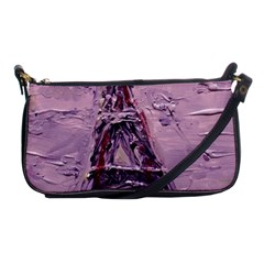 Ooh Lala Purple Rain Shoulder Clutch Bag