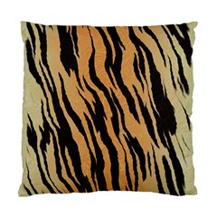 Tiger Animal Print A Completely Seamless Tile Able Background Design Pattern Standard Cushion Case (one Side)