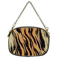 Tiger Animal Print A Completely Seamless Tile Able Background Design Pattern Chain Purse (two Sides) by Jojostore
