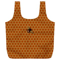 The Lonely Bee Full Print Recycle Bag (xl)