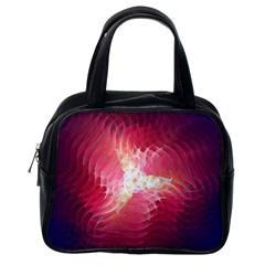 Fractal Red Sample Abstract Pattern Background Classic Handbag (one Side) by Jojostore