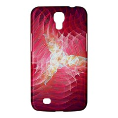 Fractal Red Sample Abstract Pattern Background Samsung Galaxy Mega 6 3  I9200 Hardshell Case