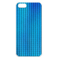 Seamless Blue Tiles Pattern Apple Iphone 5 Seamless Case (white) by Jojostore