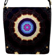 Mandala Art Design Pattern Ornament Flower Floral Flap Closure Messenger Bag (s) by Jojostore