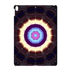 Mandala Art Design Pattern Ornament Flower Floral Apple Ipad Pro 10 5   Hardshell Case