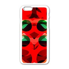 Abstract Abstract Digital Design Apple Iphone 6/6s White Enamel Case by Jojostore