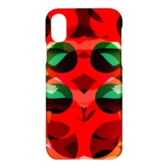Abstract Abstract Digital Design Apple Iphone X Hardshell Case